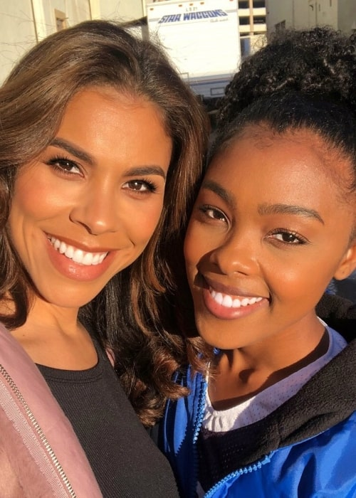 Monique Green in a selfie with her mother Gwendolyn Osborne-Smith that was taken in March 2020