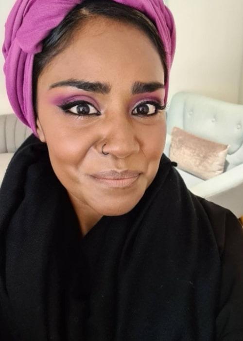 Nadiya Hussain as seen in an Instagram Post in November 2020