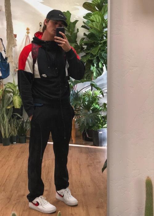 Nicholas Galitzine having fun being matchy matchy in October 2018