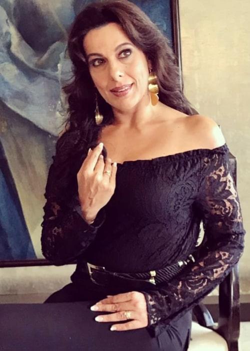 Pooja Bedi as seen in an Instagram Post in February 2021