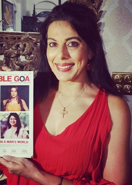 Pooja Bedi as seen in an Instagram Post in May 2021
