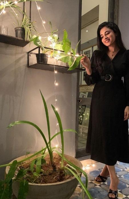 Priyanka Arul Mohan as seen in an Instagram post in November 2020