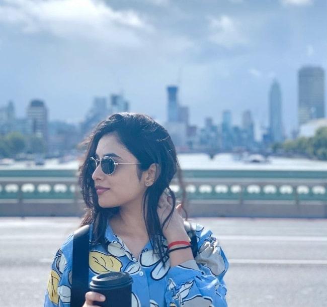 Priyanka Arul Mohan in June 2020