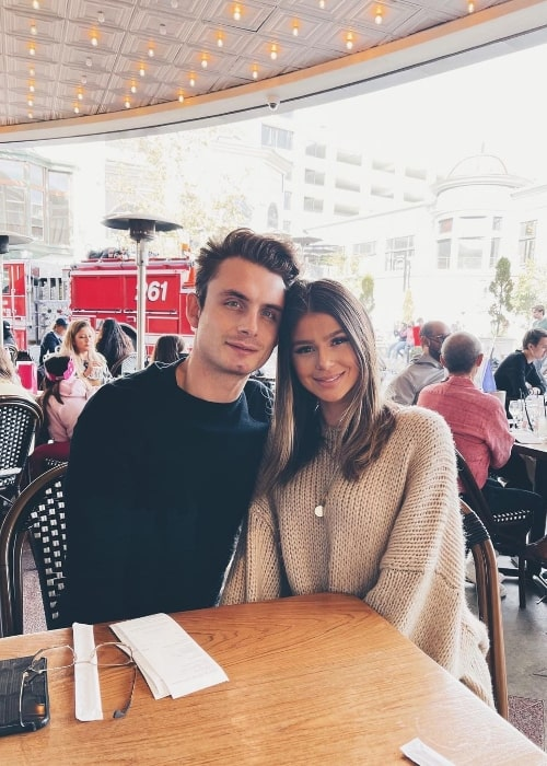 Raquel Leviss and James Kennedy as seen in an Instagram post in February 2021