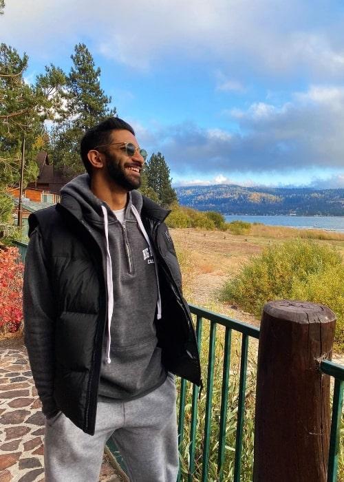 Rhys Athayde at Big Bear Lake, California in October 2020