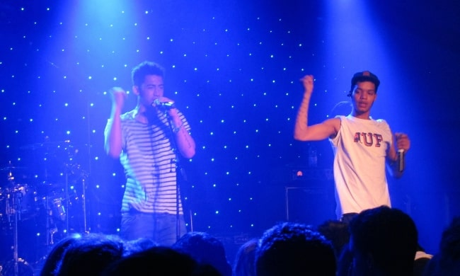 Rizzle Kicks in concert at Jesus College, Cambridge May Ball 2012