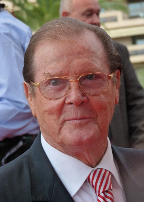 Roger Moore as seen at the 2012 Monte-Carlo Television Festival
