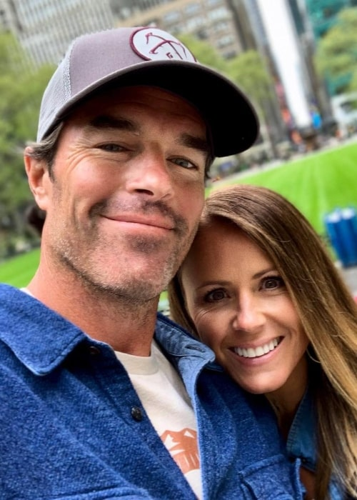 Ryan Sutter and Trista Rehn, as seen in May 2019