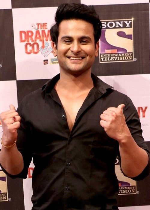 Sanket Bhosale pictured while attending the press conference of the show 'The Drama Company' in July 2017