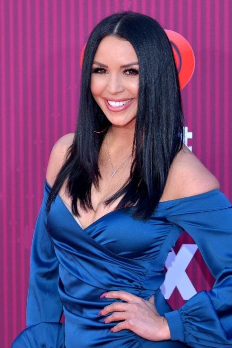 Scheana Shay as seen at the 2019 iHeartRadio Music Awards in Los Angeles, California on March 14, 2019