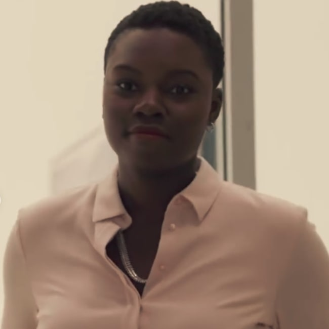 Shaunette Renée Wilson as seen in a frame from the Showtime cable TV series 'Billions'