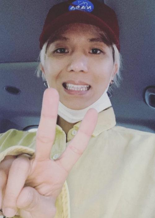 Song Min-ho as seen in an Instagram Post in August 2020