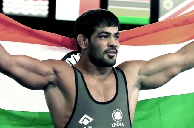 Sushil Kumar in 2014