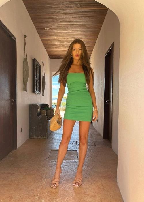 Tamara Francesconi as seen in a picture that was taken in Cap Rocat Hotel in May 2021