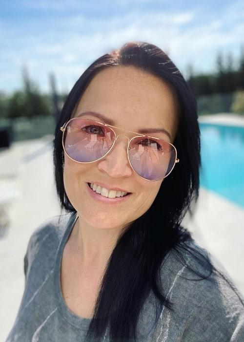 Tarja Turunen as seen in an Instagram Post in April 2021
