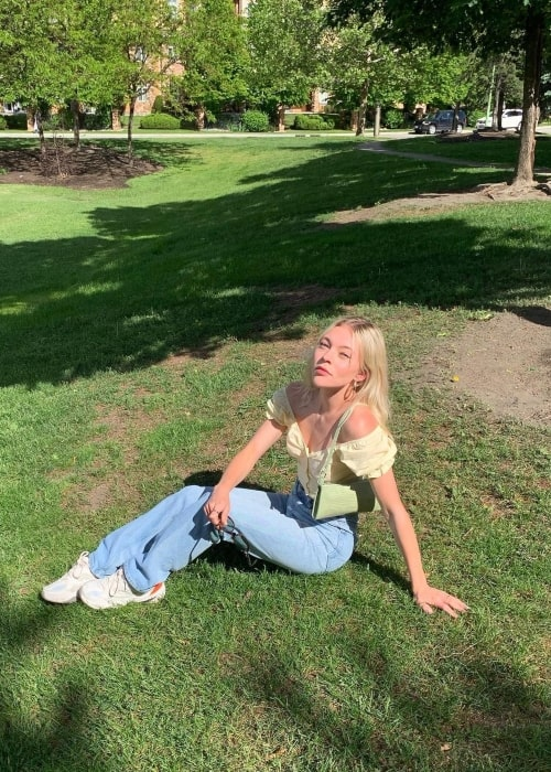 Taylor Hickson as seen in a picture that was taken in June 2020