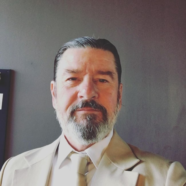 Thomas W. Gabrielsson as seen while taking a selfie in May 2019