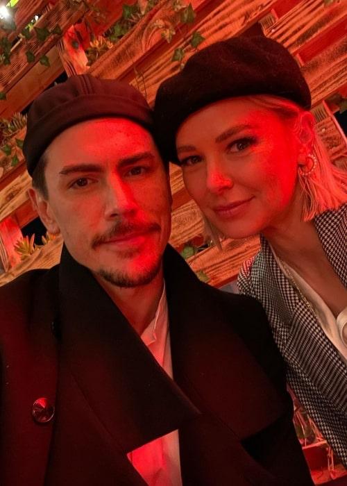 Tom Sandoval and Ariana Madix at Trattoria Don Pietro