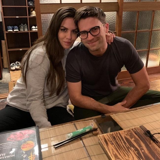 Tom Schwartz and Katie Maloney-Schwartz in December 2018