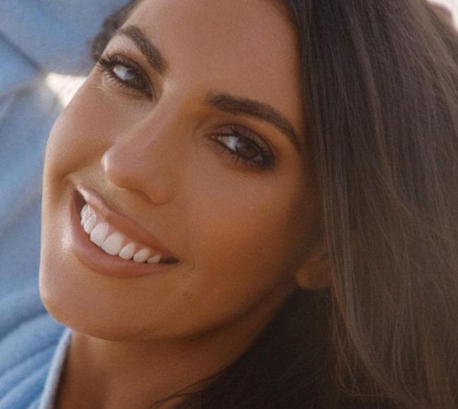 Victoria Larson in February 2021