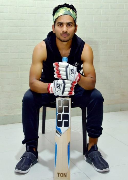 Virat Singh as seen in an Instagram Post in December 2020