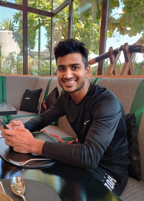 Virat Singh as seen in an Instagram Post in September 2020