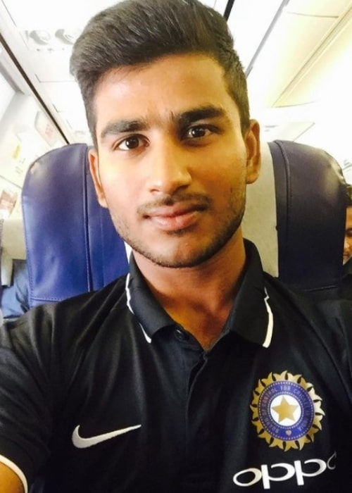 Virat Singh in an Instagram selfie from April 2017