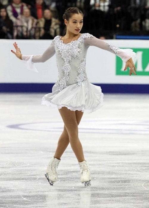 Yasmine Kimiko Yamada at the 2019 European Championships on January 25