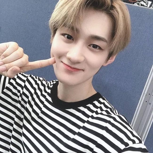 Yongseung as seen in a selfie that was taken in September 2020