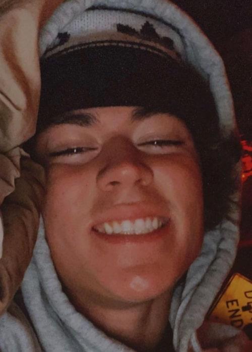 Zack Lugo as seen in a selfie that was taken in April 2020