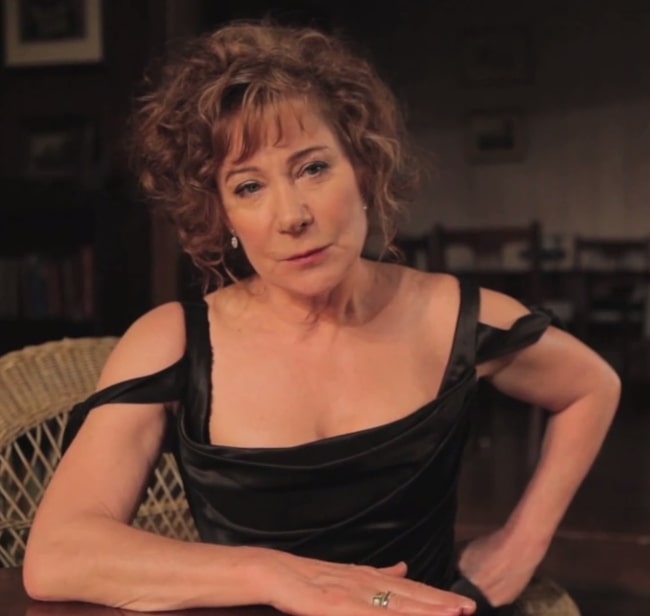 Zoë Wanamaker as seen in a still from a film about acting