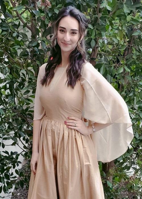 Abigail Shapiro as seen in a picture that was taken in November 2020