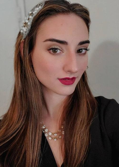 Abigail Shapiro as seen in a selfie that was taken in Virginia in December 2020