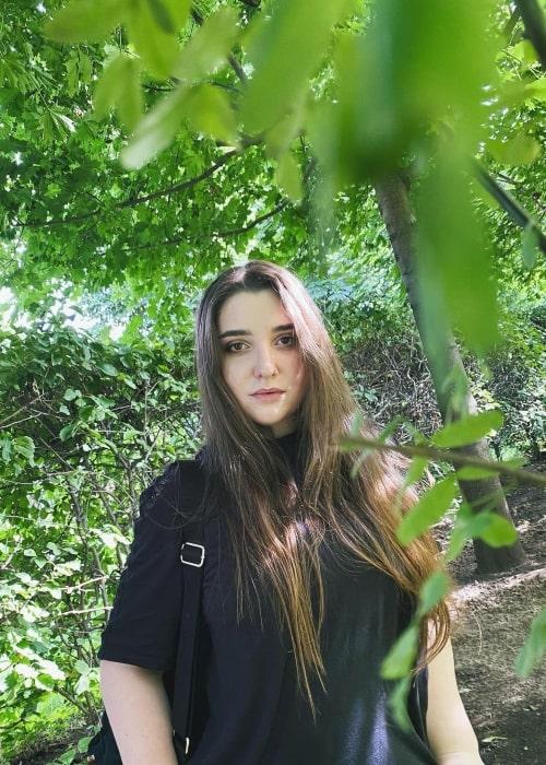 Aliya Mustafina as seen in an Instagram Post in August 2020