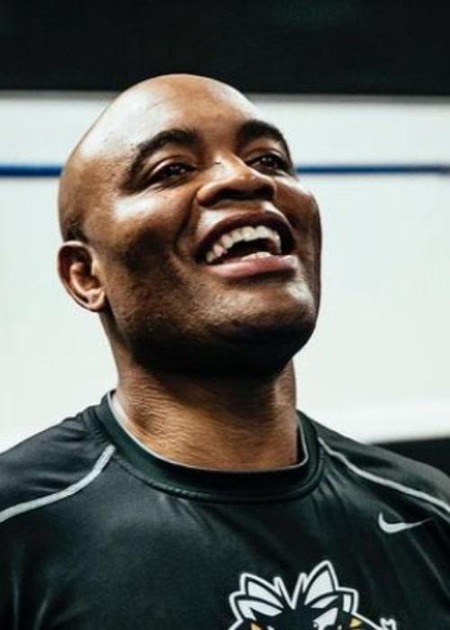 Anderson Silva as seen in an Instagram Post in November 2020