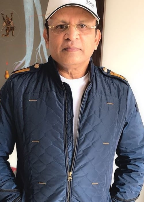 Annu Kapoor as seen in an Instagram Post in January 2018
