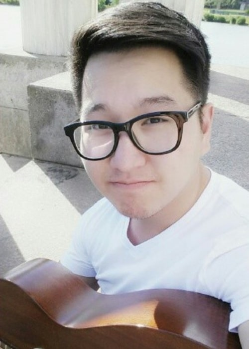 BaboAbe as seen in a selfie that was taken at Baird Point in July 2014