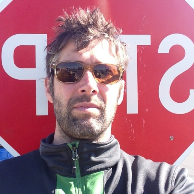 Bart Freundlich as seen while taking a selfie in May 2013