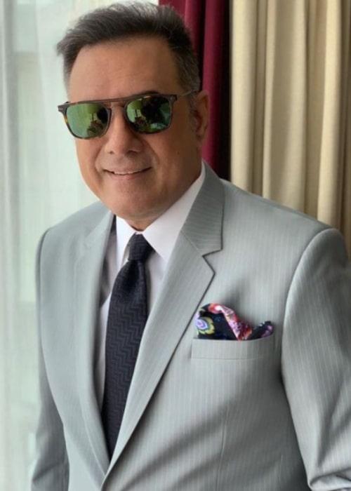 Boman Irani as seen in an Instagram Post in November 2018