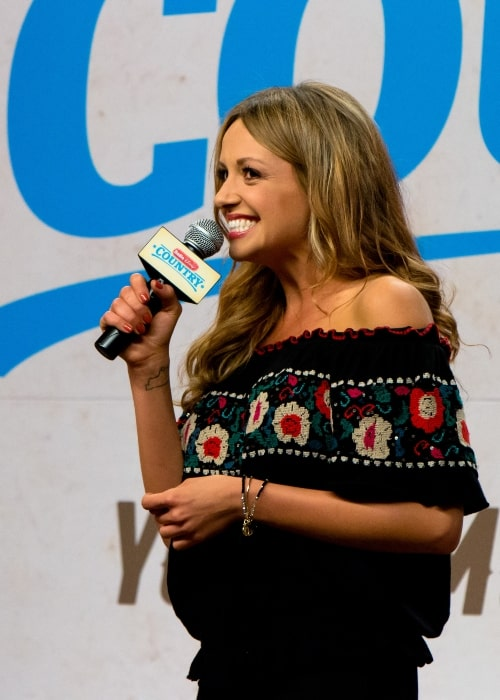 Carly Pearce as seen in a picture that was taken at the CMA Fest 2017