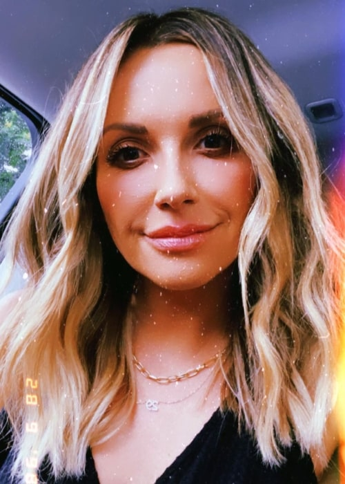 Carly Pearce as seen in a selfie that was taken in Nashville, Tennessee in May 2021