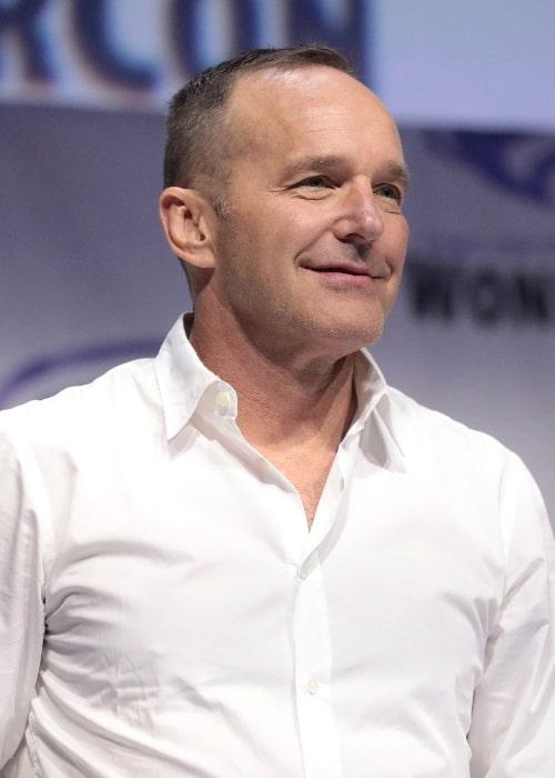 Clark Gregg at the 2019 WonderCon in Anaheim, California