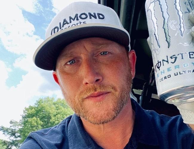 Cole Swindell as seen in July 2020
