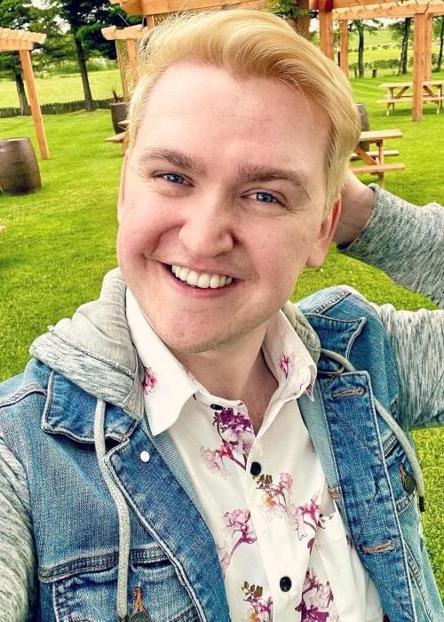 Dangthatsalongname as seen in a selfie that was taken in June 2021