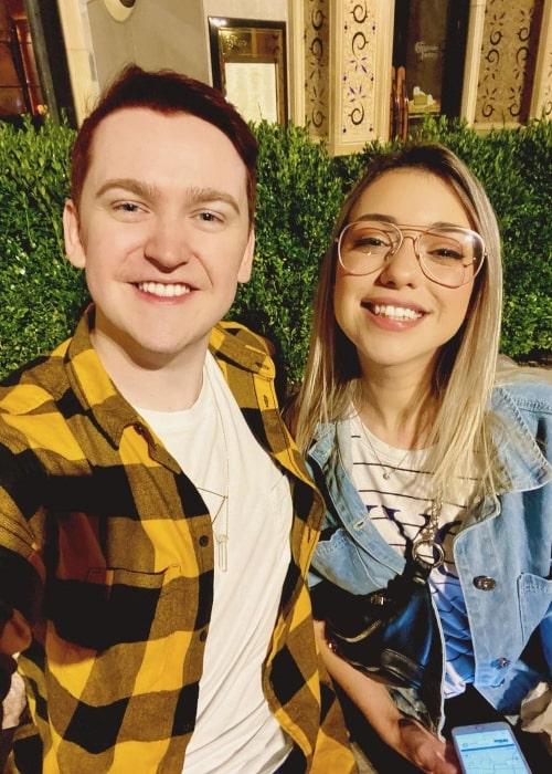 Dangthatsalongname as seen in a selfie that was taken with American gamer Shubble in September 2019