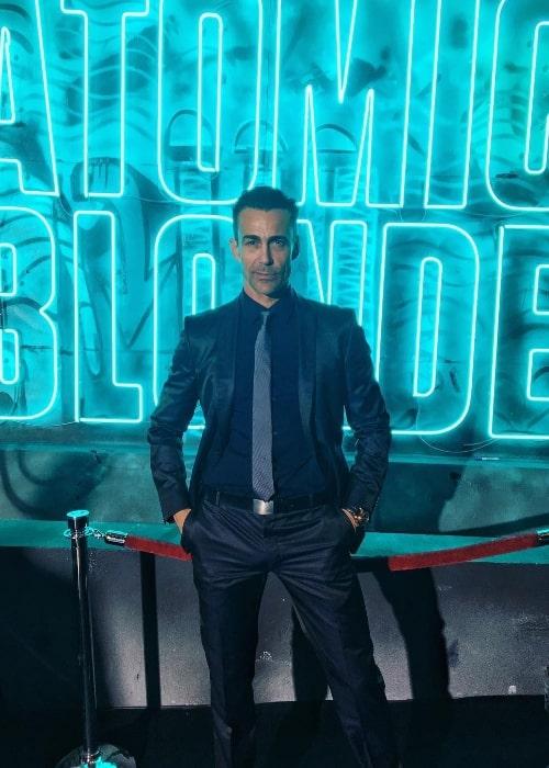 Daniel Bernhardt as seen at the world premiere of 'Atomic Blonde' in Berlin, Germany in July 2017