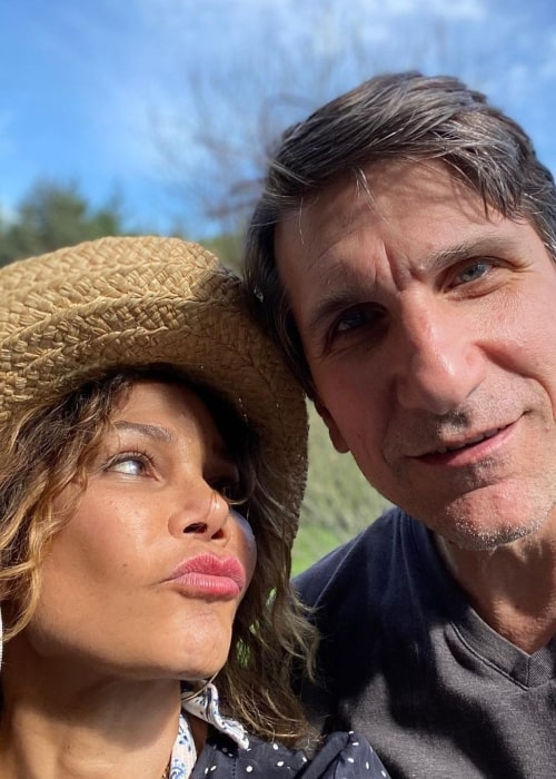 Daphne Rubin-Vega and Tommy Costanzo, as seen in May 2020