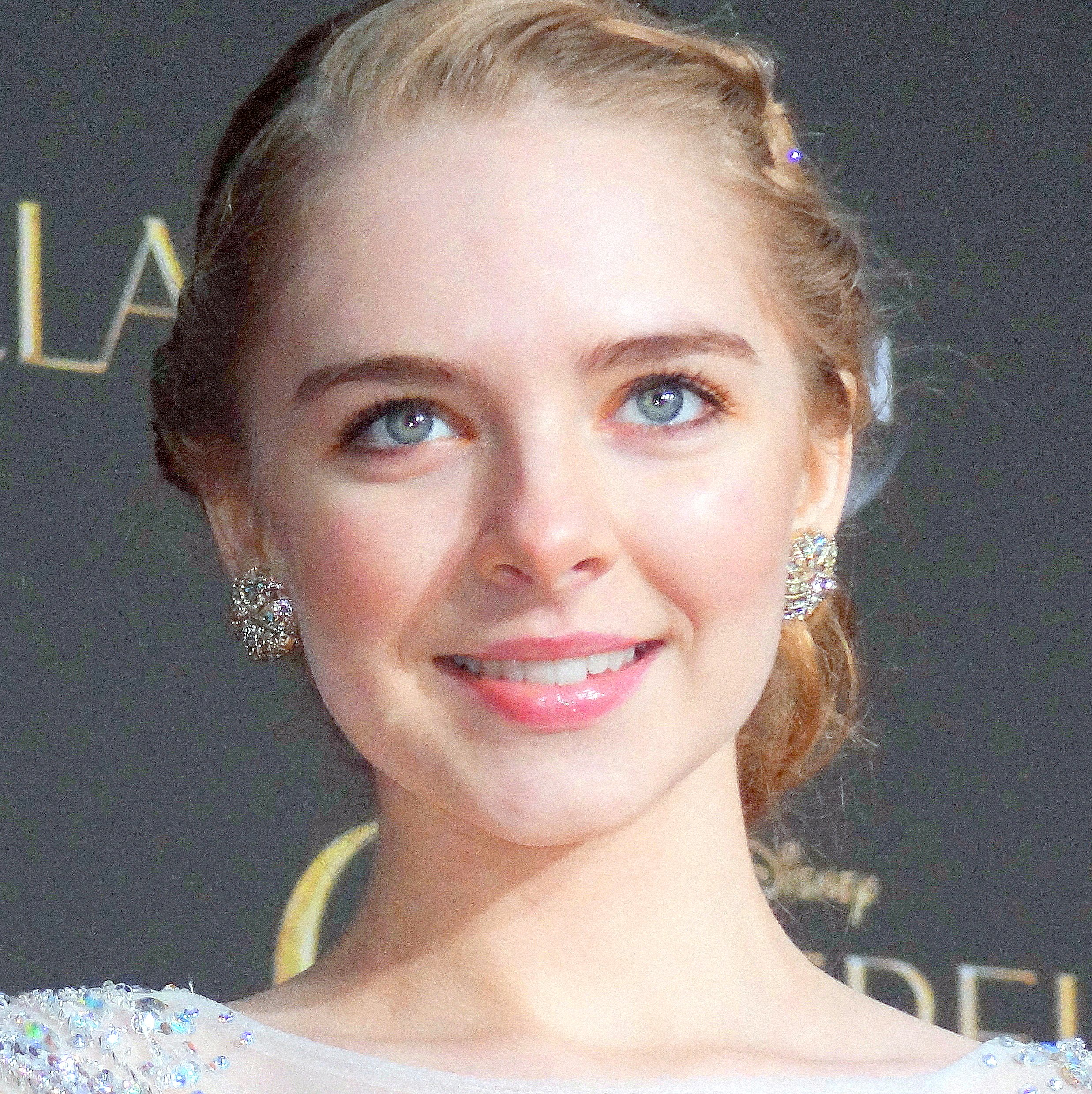 Darcy Rose Byrnes at the world premiere of Cinderella at the El Capitan Theatre Hollywood March, 1 2015