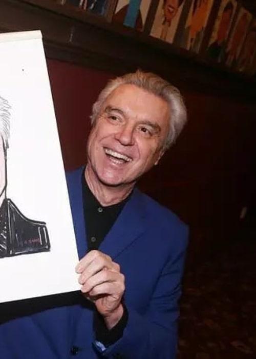 David Byrne as seen in an Instagram Post in January 2020