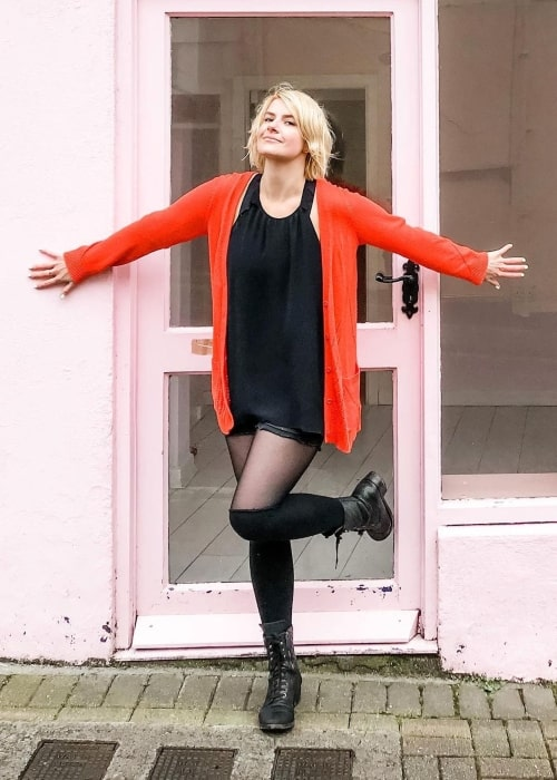 Erin McGathy as seen in a picture that was taken in Ballina, Mayo, Ireland in March 2020